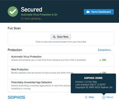 antivirua sophos adalah salah satu antivirus terbaik dari 15 antivirus yang banyak digunakan