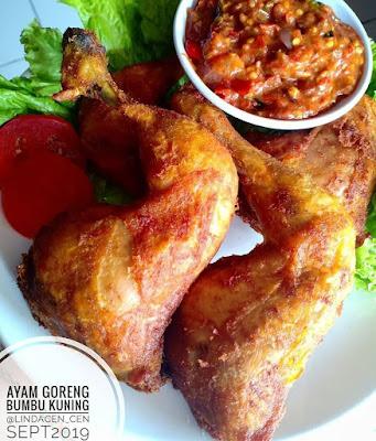Resep Olahan Ayam - Ayam Goreng Bumbu Kuning