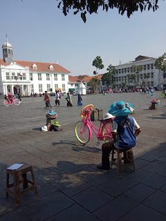 penyewaan sepeda kota Tua Jakarta