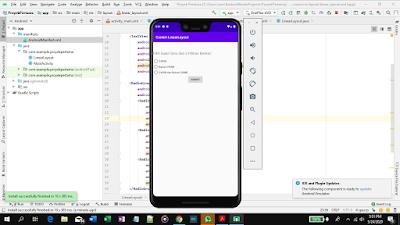 cara menggunakan linearlayout di android studio
