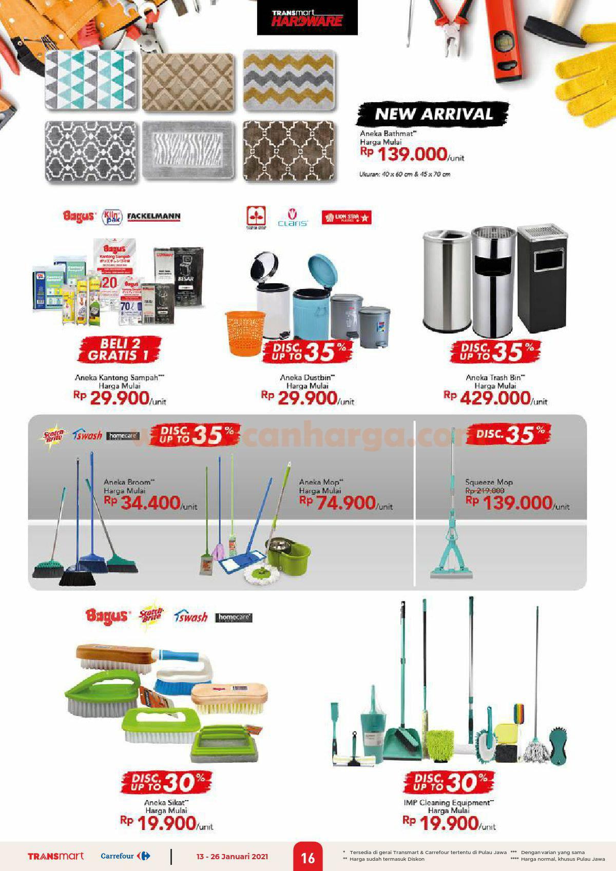 Katalog Promo Carrefour Transmart 13 - 26 Januari 2021 16