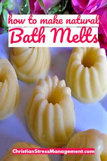 How to make natural bath melts