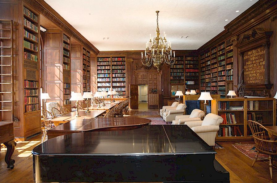 Historical Libraries Of Florence Italy