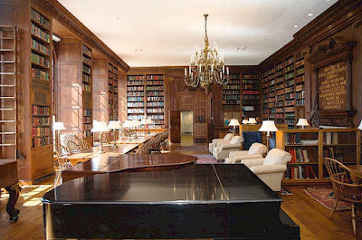 Berenson Library at Villa I Tatti