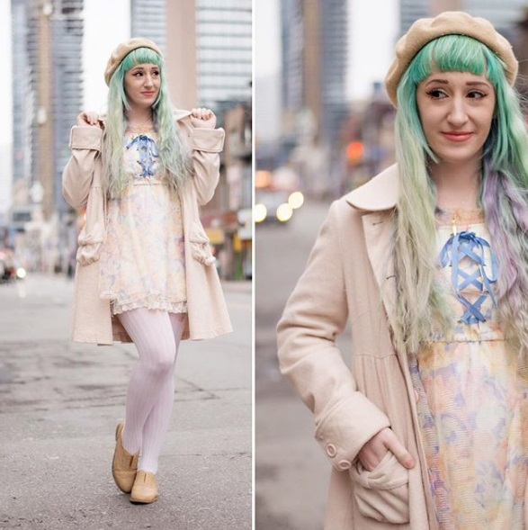 kawaii fashion cute outfits pastel hair pretty clothes jfashion fashion blogger blog lovelylor