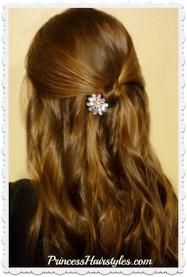 Easy simple knot hairstyle for Prom! Video tutorial