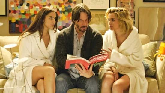 Lorenza Izzo - Keanu Reeves -Ana de Armas - Knock Knock  2015