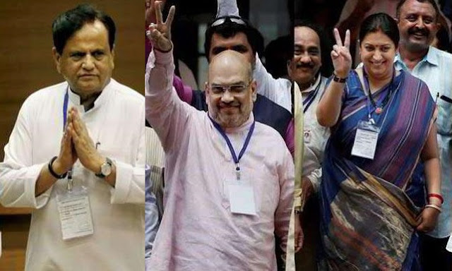 Ahmed Patel, Gujarat, Rajya Sabha, Rajya Sabha Election, Gujarat RS Polls, Gujarat RS Election, Amit Shah, Smriti Irani, Balwant Singh Rajput, Narendra Modi, Sonia Gandhi, Gujarat Congress MLAs. Ahmedabad