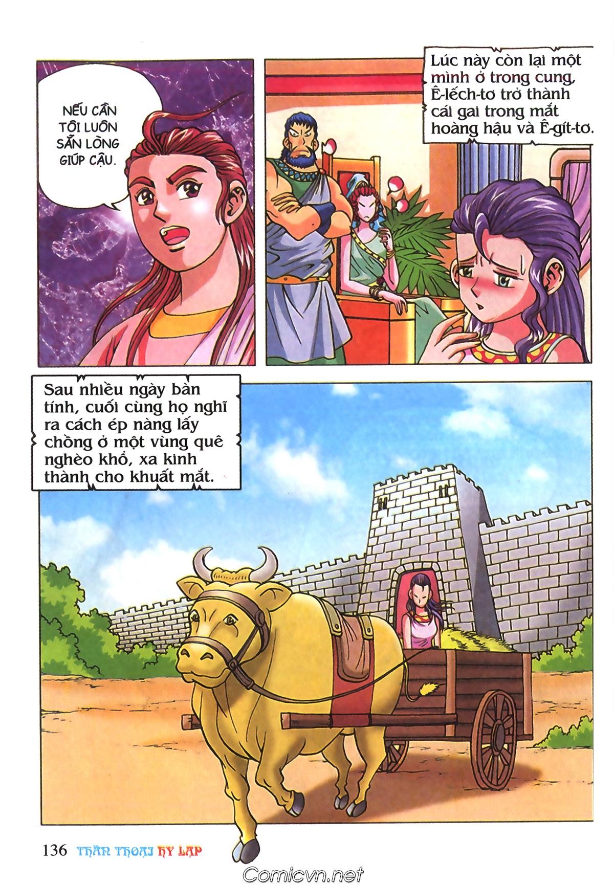 Thần Thoại Hy Lạp Màu - Chapter 70: Nàng Ê lếch tơ - Pic 29
