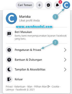 Cara Mengganti Nama Facebook lewat Komputer