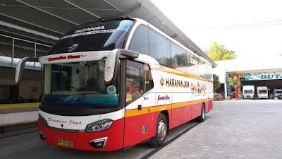 Foto Bus Harapan Jaya 467