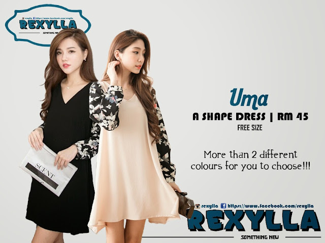 rexylla, A shape dress, blouse, uma collection