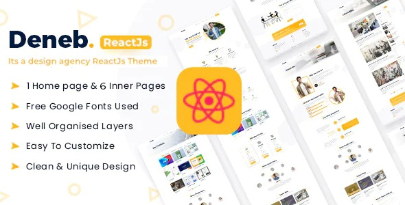Best Creative Portfolio React JS Theme