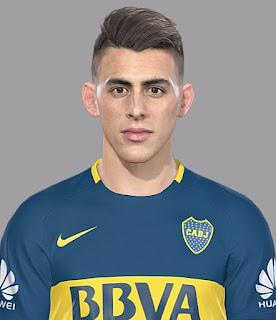 PES 2018 Faces Cristian Pavon by Luis Facemaker