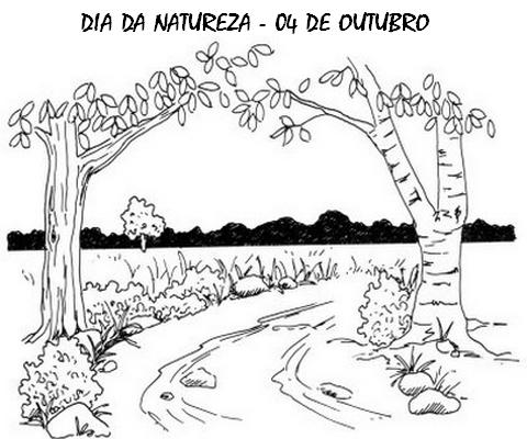 dia da natureza desenhos e atividades para colorir imprimir v