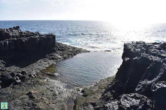 Piscina natural en Caleta de Fuste, Fuerteventura