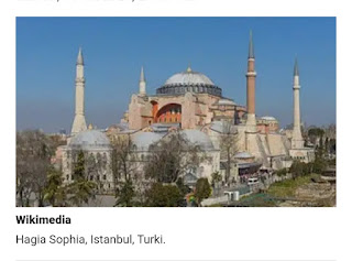 Meski ditentang AS dan uni Eropa, Turkey tetap putuskan Hagia Sophia menjadi Masjid