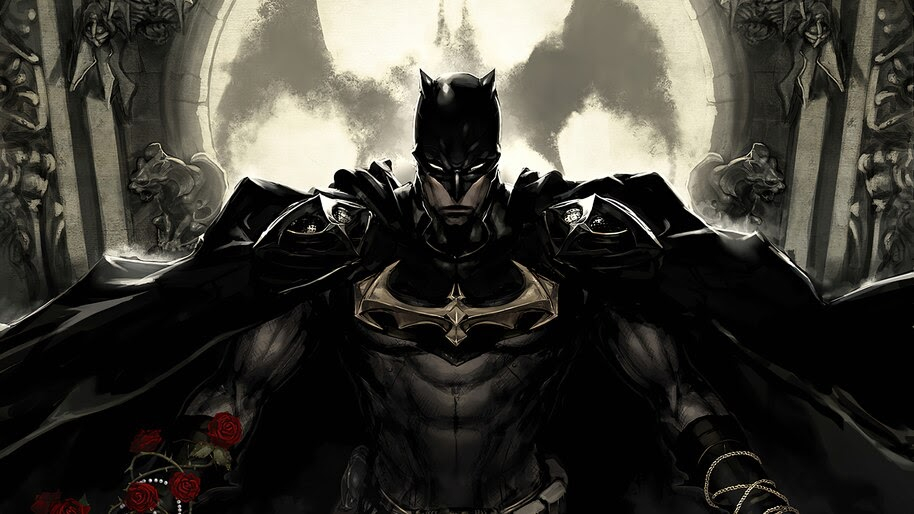 Batman, Suit, Art, DC, Comics, 4K, #6.2050
