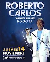 Concierto de ROBERTO CARLOS en Colombia 2019