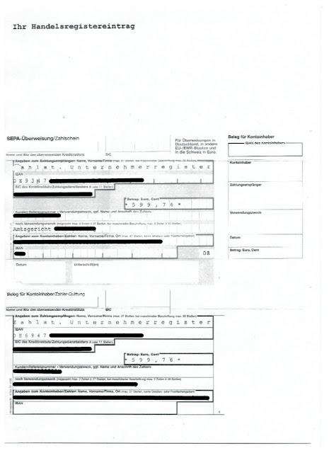"""Scan: Offerte PW Logistik UG für """"Unternehmerregister.online"""" / Seite 2"""
