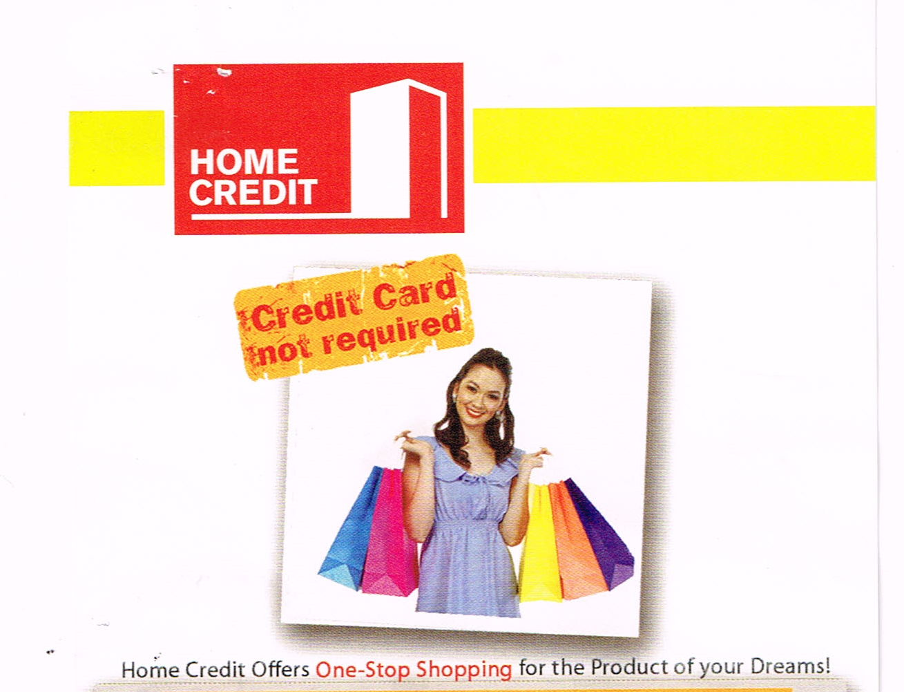 HOME CREDIT: CREDIT CARD NOT REQUIRED MAG-APPLY NA!