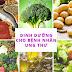 Ung Thư: Chế độ dinh dưỡng cho bệnh nhân ung thư