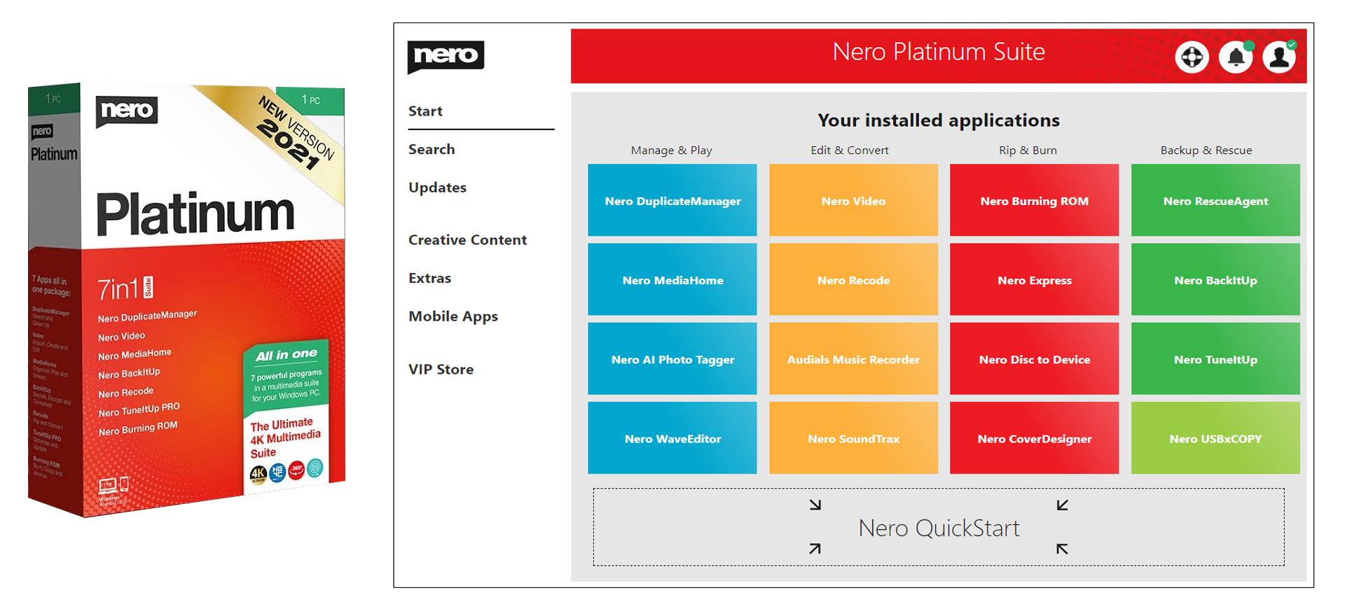 Cara Install Nero Platinum Suite 2021 Full Version