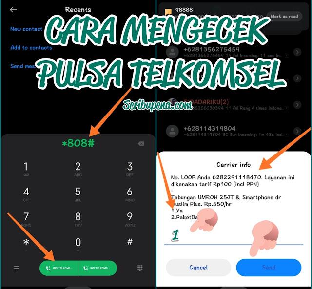 Cara Mengecek Pulsa Telkomsel