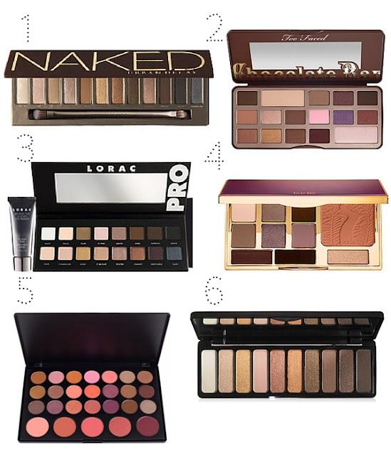 paletas de maquillaje regalos beauty lovers