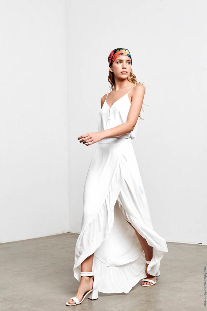 Faldas primavera verano 2020 moda mujer.