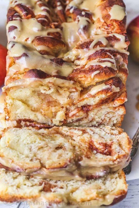 Pull-Apart Apple Bread Recipe