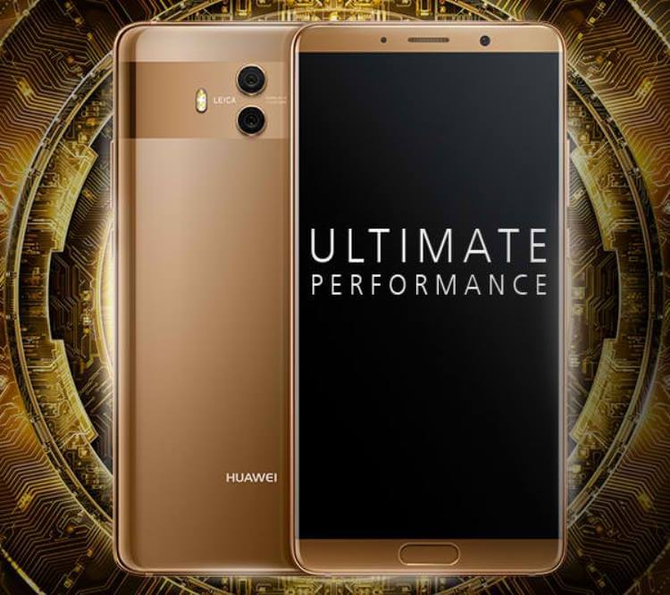Huawei Mate 10 Unveiled; 5.9-inch QHD, Dual f/1.6 Leica Cameras, Octa Core Kirin 970 AI Processor