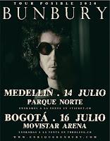 Concierto de Enrique Bunbury en Colombia