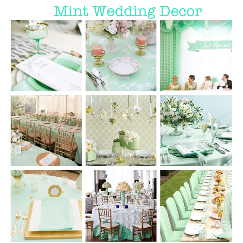 Mint Wedding Ideas: Wedding Mint-spirations! - Crystal Drown