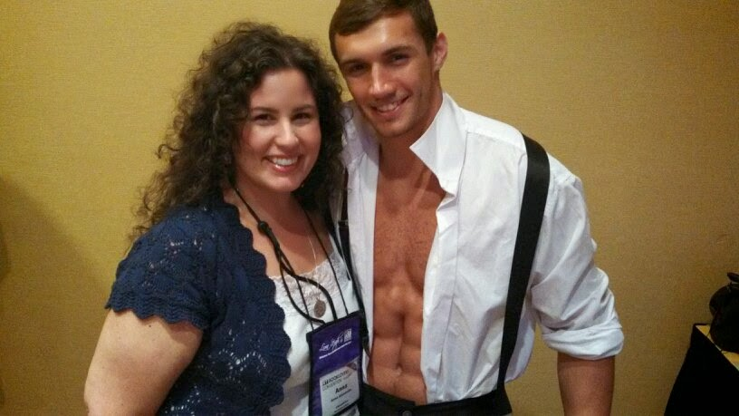 Anna Alexander and Tristan at RT2014