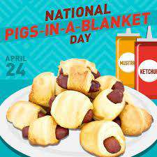 National Pigs in a Blanket Day Wishes Awesome Picture
