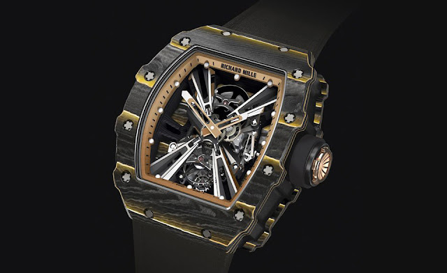 Richard Mille RM 12-01 Tourbillon Carbon and Gold TPT