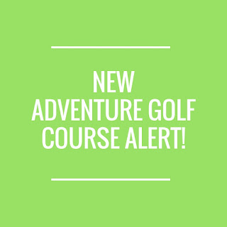 The new Volcano Adventure Golf course at the Trafford Golf Centre in Manchester opens on Tuesday 17th December 2019