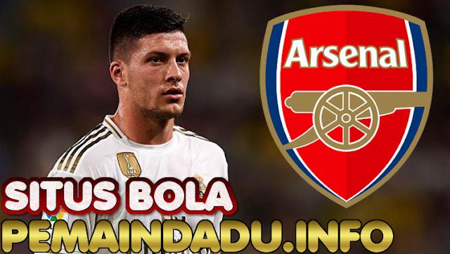 Striker Luka Jovic Jadi Calon Pengganti Aubameyang Di Arsenal