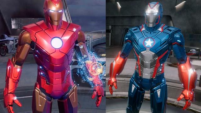 Iron Man VR análisis armaduras
