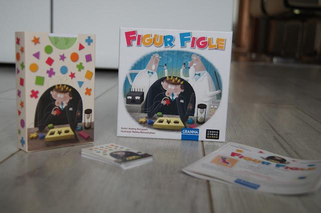"""""""Figur Figle"""" - nowość od wydawnictwa Granna."""