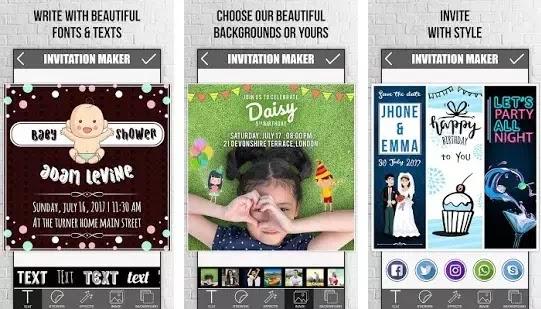 Aplikasi Untuk Membuat Kartu Undangan Ulang Tahun Terbaik Di Android Brankaspedia Blog Ulasan Teknologi