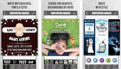 Aplikasi untuk membuat kartu undangan ulang tahun terbaik di Android-5