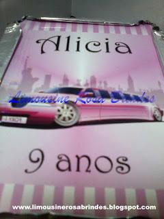 marmitinha limousine rosa, limousine rosa, lembrancinha limousine rosa, brinde limousine rosa, festa limousine rosa, tema limousine rosa