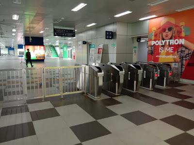 mesin tap tiket MRT jakarta
