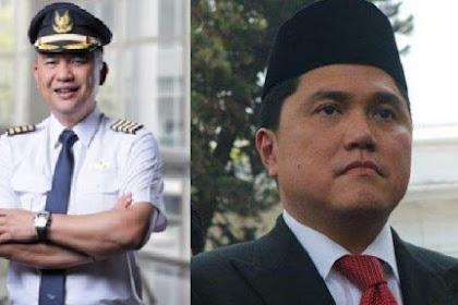 Menteri BUMN Pecat Dirut Garuda Indonesia Ari Askhara, Said Didu: Erick Thohir Lulus Uji Nyali