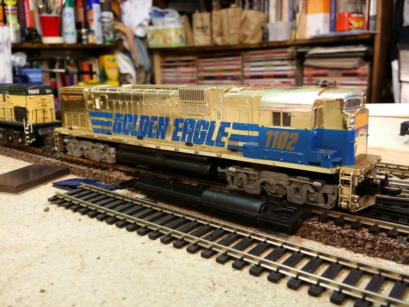 hight resolution of the tyco golden eagle c630