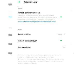 Hasil mengatur resolusi video
