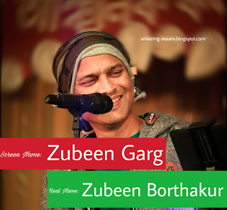 Zubeen garg real name