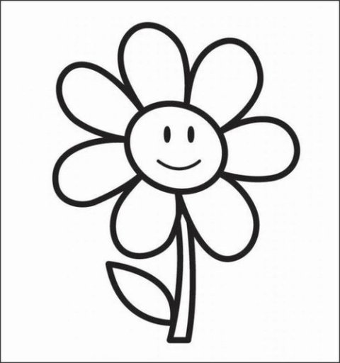 Cartoon Pic Of Flowers